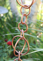 Rain Chain Copper Circles