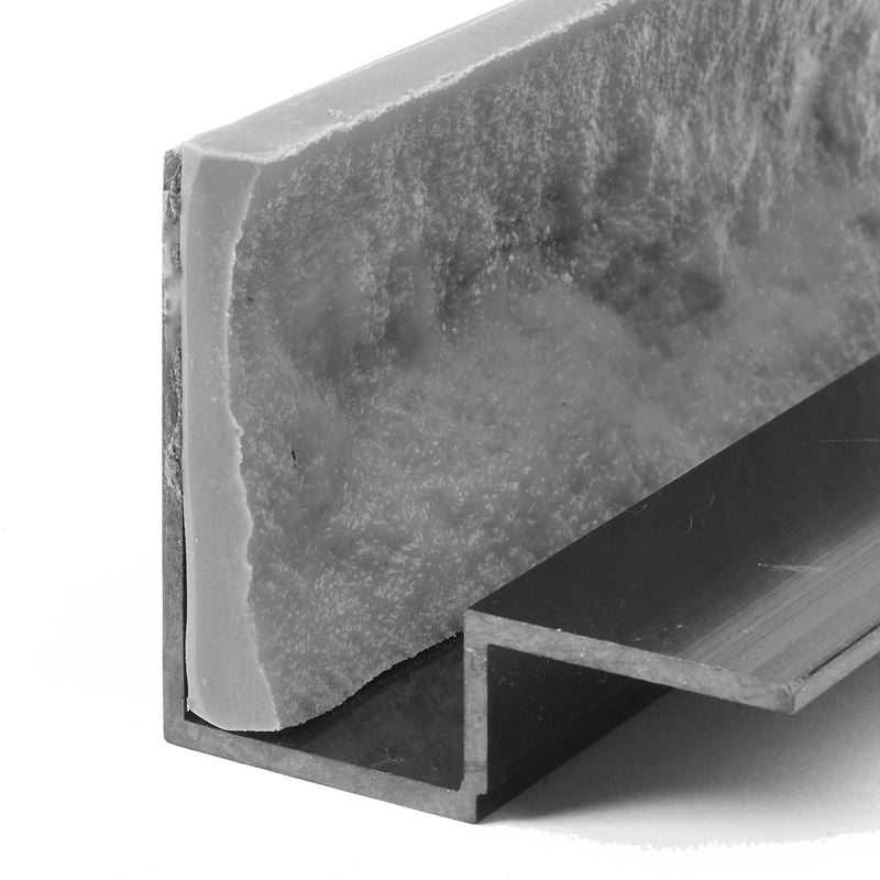 "Concrete Edge Form Liner - 3.5"" Rock Face"
