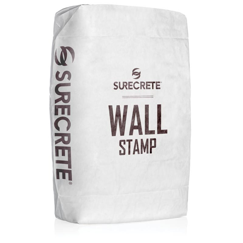 Surecrete Wall Stamp Vertical and Carving Concrete Mix