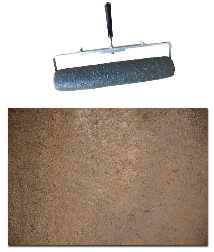 "Concrete Roller - 18"" Seamless Travertine"