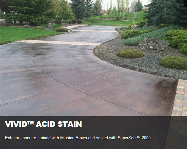 Concrete Acid Stain, 4oz Samples