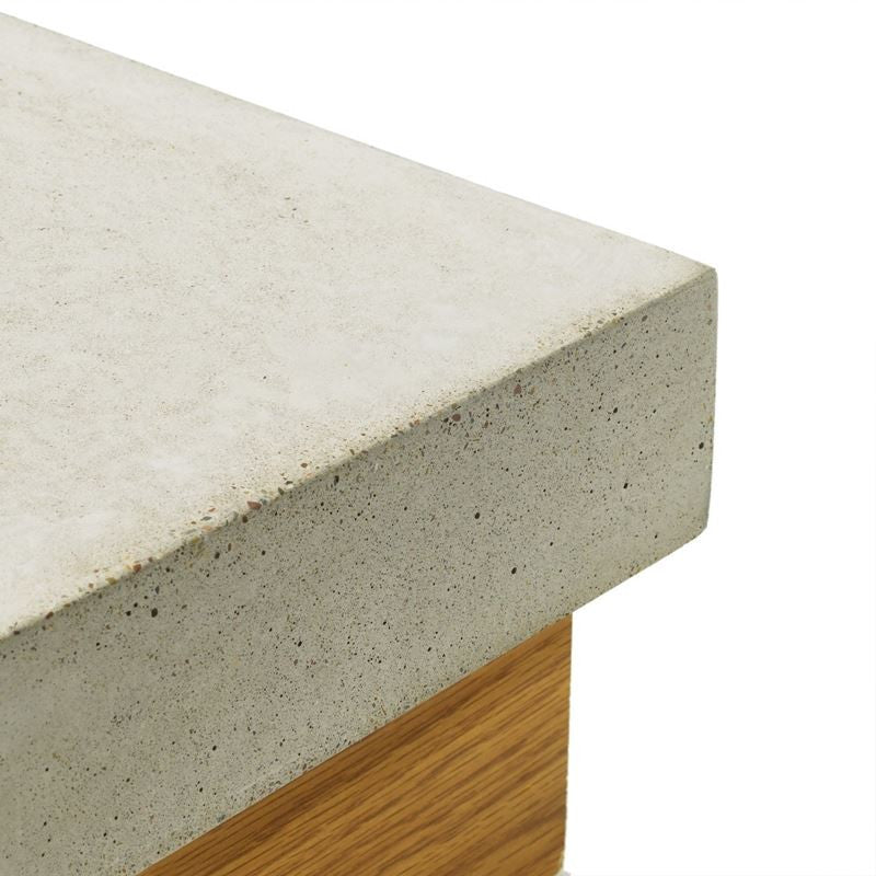Concrete Countertop Cast In Place Forms- Flat Square Edge
