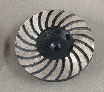 "Diamond Grinding - 5"" Turbo Cup Wheels"