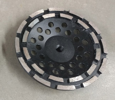 "Diamond Grinding - 7"" Double Row Wheels"