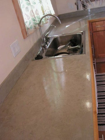 Concrete Micro-Topping Cement Countertop and Flooring Overlay
