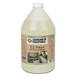 Concrete Cleaner Degreaser and Etch Prep, EZ-Prep