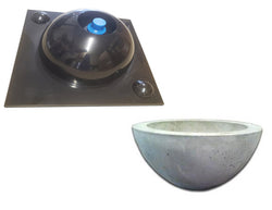 "Concrete Vessel Sink Mold, DPM-10 - 14"" Bowl"