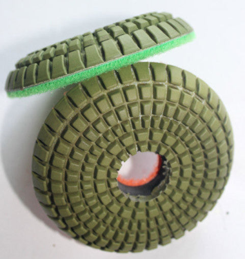 "Diamond Polishing Pads, EXPell 3"" Convex"