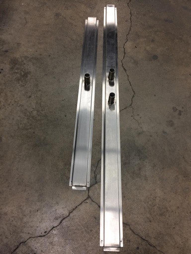 Slot Linear Drain Pan, Stainless Steel - Custom Size