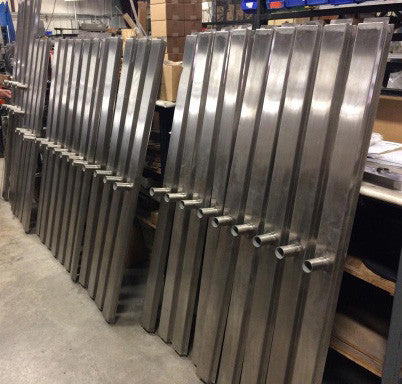 Slot Drain Pan, Stainless Steel - Custom Size