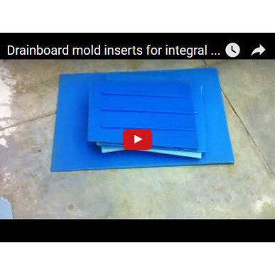 Concrete Drainboard Mold Giant