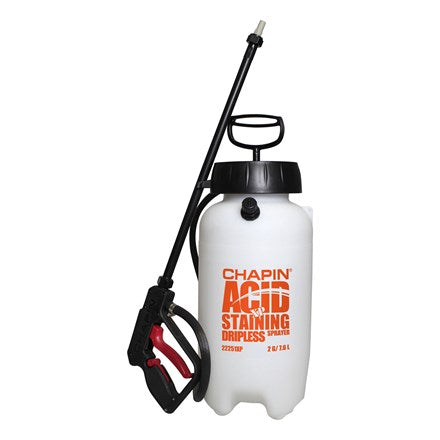 Concrete Acid Stain Sprayer 2 Gallon - Dripless