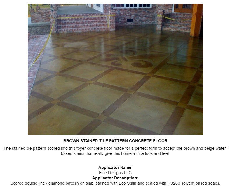 Concrete Water-Based Stain, Surecrete Eco-Stain - Gallon Sizes
