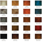 metallic 3d epoxy floor concrete coating color chart