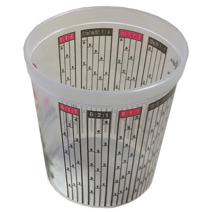 Concrete Sealer Small Measuring Mixing Cups 16oz (Pint)