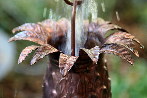Rain Chain Copper Premium Pineapple