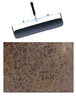 "Concrete Roller - 18"" Seamless Pitted Stone"