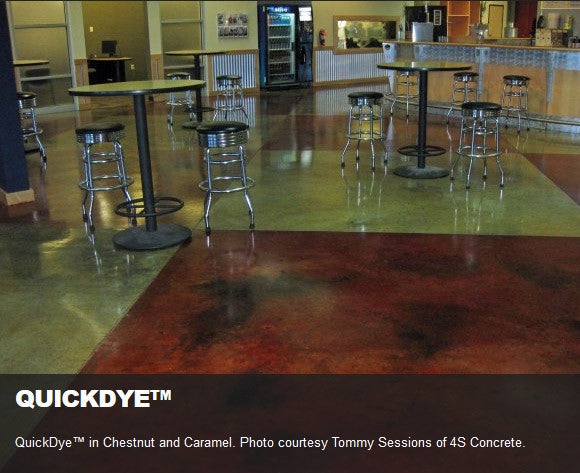 Expressions Ltd Concrete Stain Dye Quickdye Acetone Based
