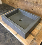 Concrete Countertop Sink Mold, SDP-21-B Rectangle Shallow (@16