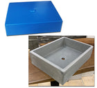 Concrete Countertop Sink Mold, SDP-21-D Rectangle Shallow (@17