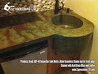 Concrete Countertop Sink Mold, DB40- Round Bar