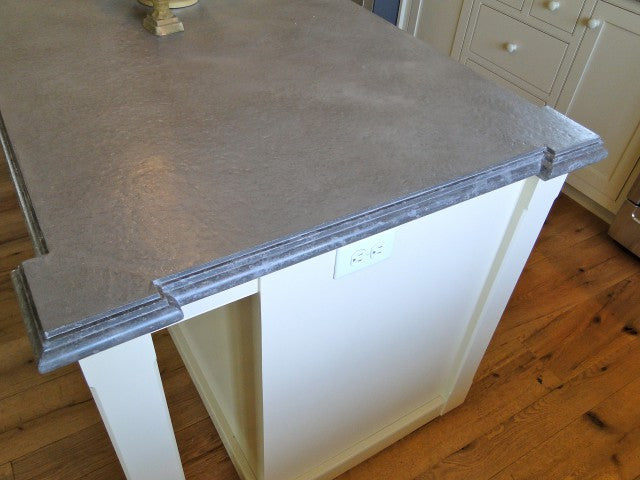 Concrete Countertop Cast In Place Forms- Double Fancy