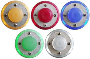 R2 Small Round LED Doorbell by spOre