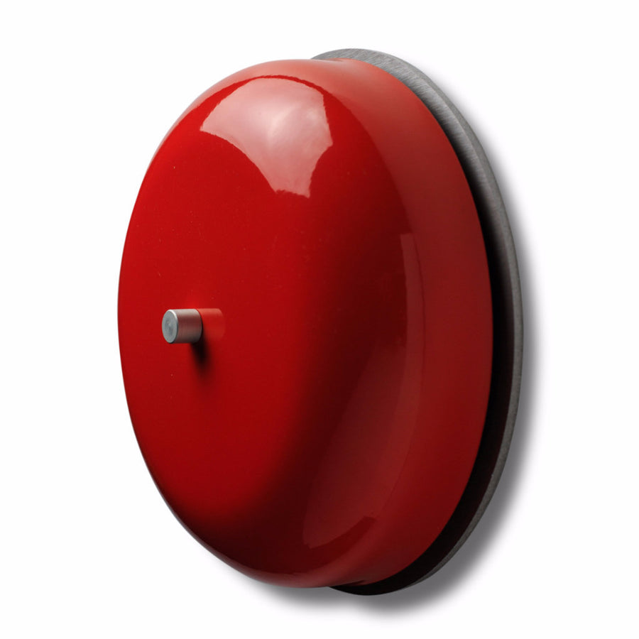 "Spore 6"" BIG RING Real Bell Doorchime- Red Tangerine"