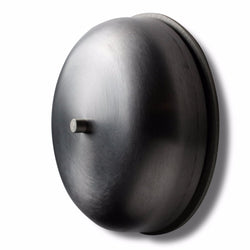 "Spore 6"" BIG RING Real Bell Doorchime- Brushed Steel"