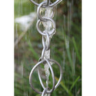 Rain Chain Circles - Stainless Steel