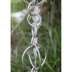 Rain Chain Stainless Steel Circles