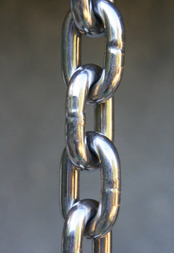 Rain Chain Stainless Steel 3/16 Inch Link