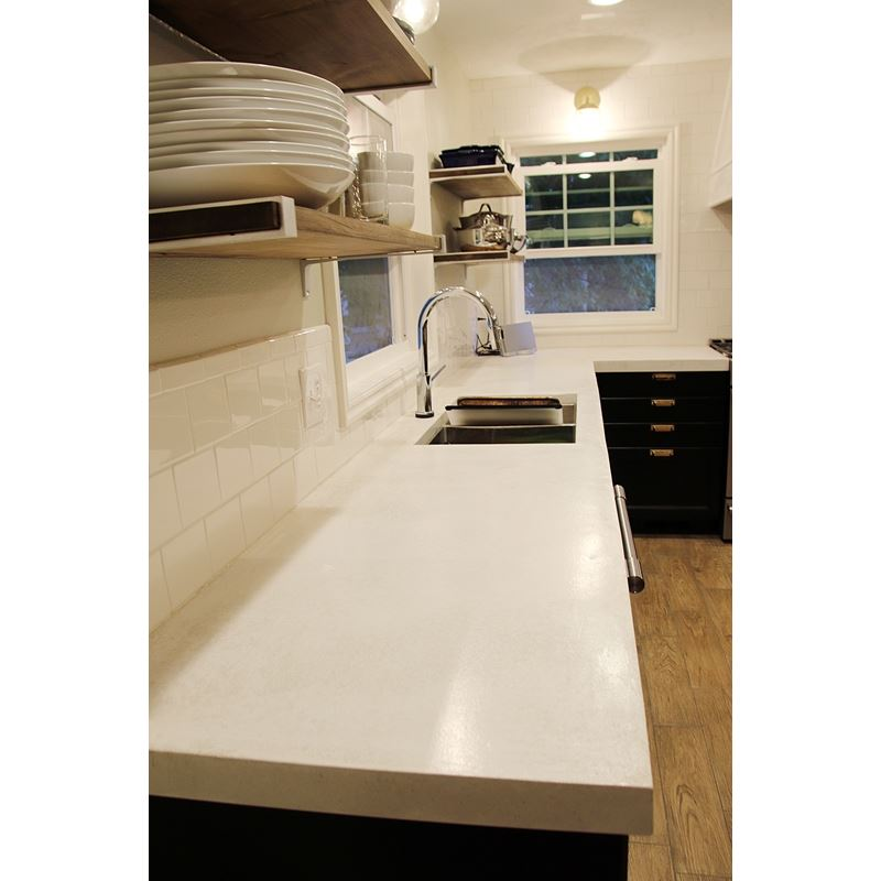 White Concrete Countertop Mix 50lb Bag Expressions Ltd