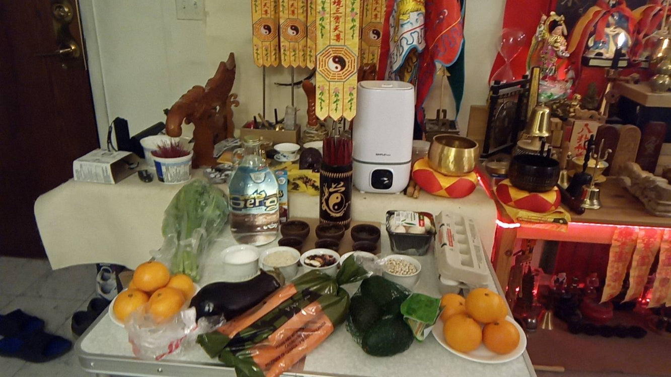 Food Offering Basic Meanings on Taoist Altar