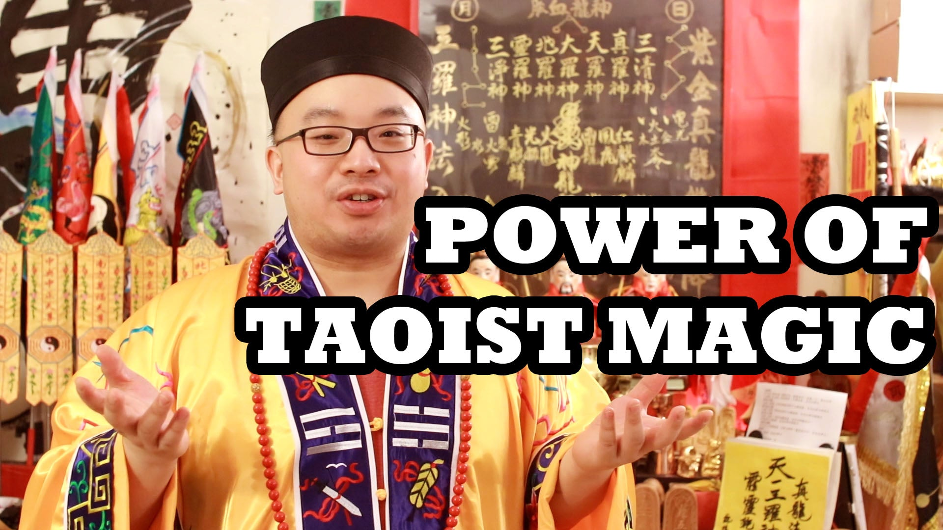 Proud to Be a Taoist! Always Prepared!