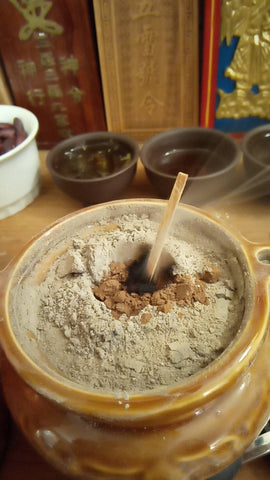 taoist burning incense