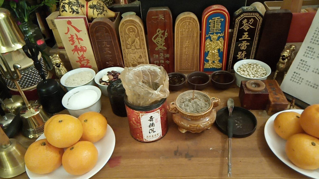 taoist powdered incense
