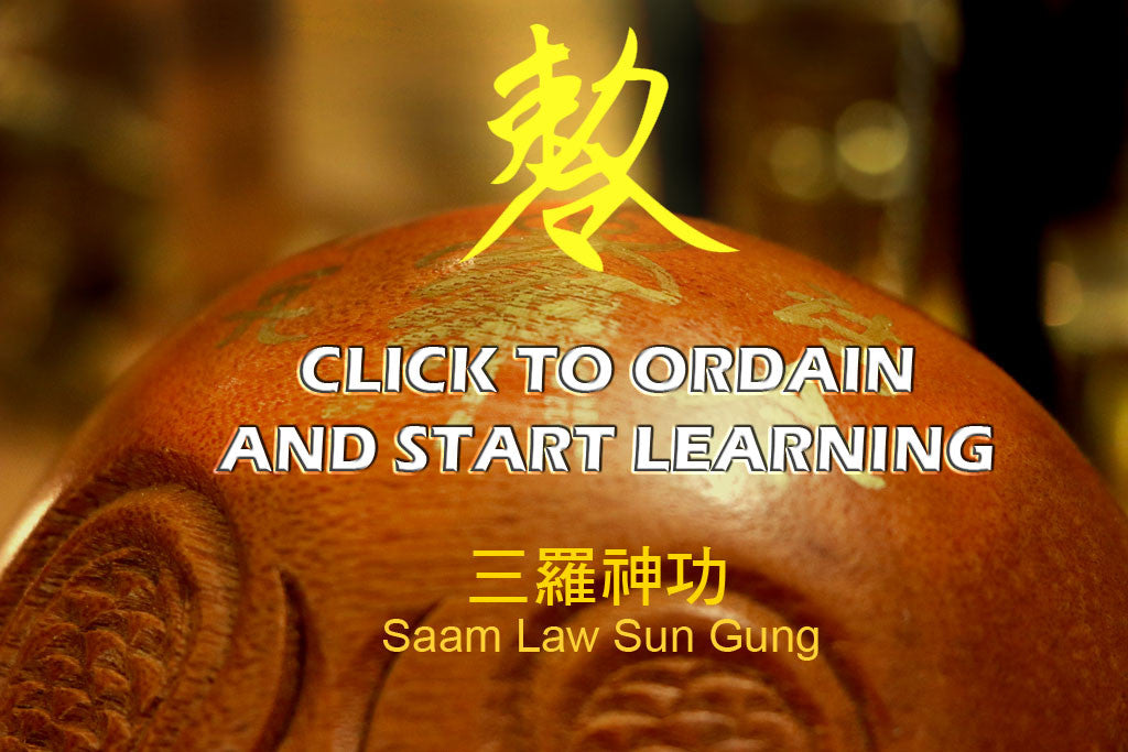 ordain to become a taoist