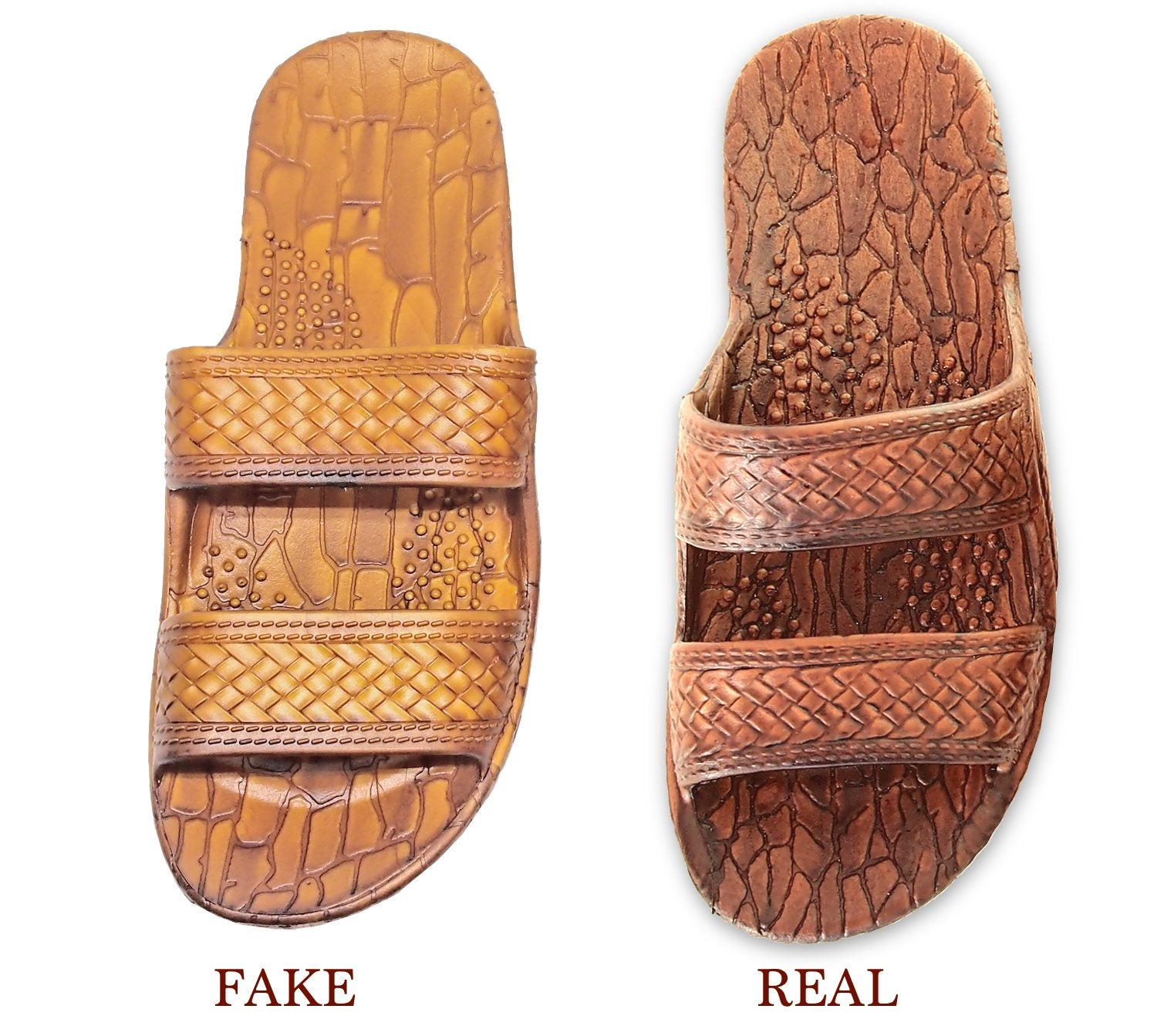 Pali Hawaii - Fake vs Real