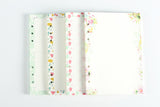 Floral Cat Fruit Mushroom A5 A6 Insert - Kute Kico Kawaii Stationery