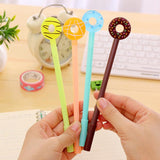 Donut Gel Pen 4 pcs - Kute Kico Kawaii Stationery