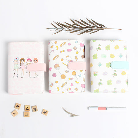 Cute Girly Sweet Succulent A6 Personal Size Planner - Kute Kico Kawaii Stationery