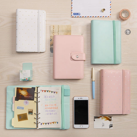 Pastel A5 A6 - Kute Kico Kawaii Stationery