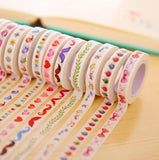 Skinny Designs Washi Tape - Kute Kico Kawaii Stationery