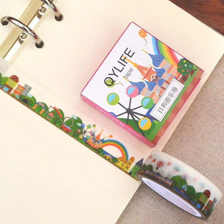 Playground Decorative Washi Tape - Kute Kico Kawaii Stationery