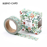 Retro Flowers Washi Tape - Kute Kico Kawaii Stationery