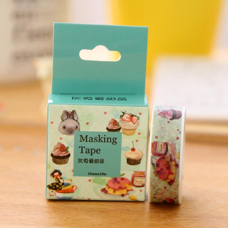 Candy Sweet Washi Tape - Kute Kico Kawaii Stationery