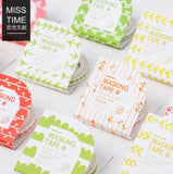 Slim Brigth Plant Series Decorative Washi Tape - Kute Kico Kawaii Stationery