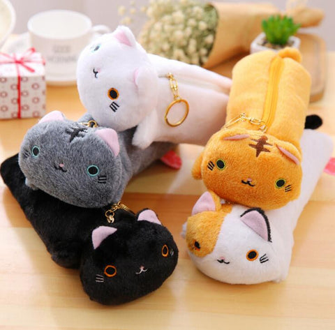 Cat Pencil Pouch Case - Kute Kico Kawaii Stationery
