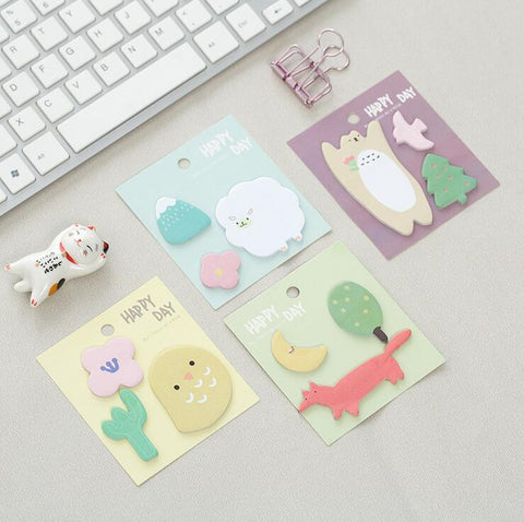 Funland Sticky Notes - Kute Kico Kawaii Stationery